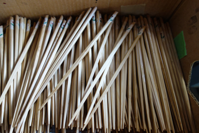 Bamboo chopsticks and saibashi from Oita prefecture