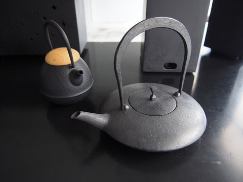 "【Tools of the season】 Healthy Japanese Tools ""iron kettle"""