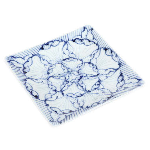 6.1 inch Square Plate / Petal