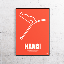 Load image into Gallery viewer, Hanoi Formula 1 Track Print