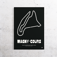 Load image into Gallery viewer, Magny-Cours Track Print