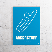 Load image into Gallery viewer, Anderstorp Track Print