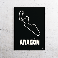 Load image into Gallery viewer, Aragon MotoGP Track Print