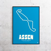 Load image into Gallery viewer, Assen MotoGP Track Print