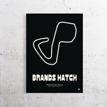 Load image into Gallery viewer, Brands Hatch Track Print