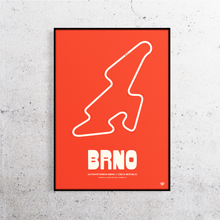 Load image into Gallery viewer, Brno MotoGP Track Print