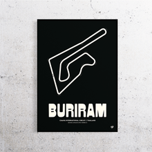 Load image into Gallery viewer, Buriram MotoGP Track Print