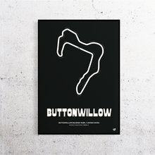 Load image into Gallery viewer, Buttonwillow Track Print
