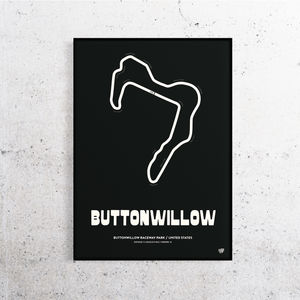 Buttonwillow Track Print
