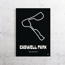 Load image into Gallery viewer, Cadwell Park Track Print