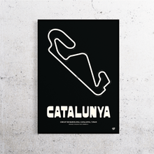Load image into Gallery viewer, Catalunya Formula 1 Track Print
