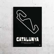 Load image into Gallery viewer, Catalunya MotoGP Track Print