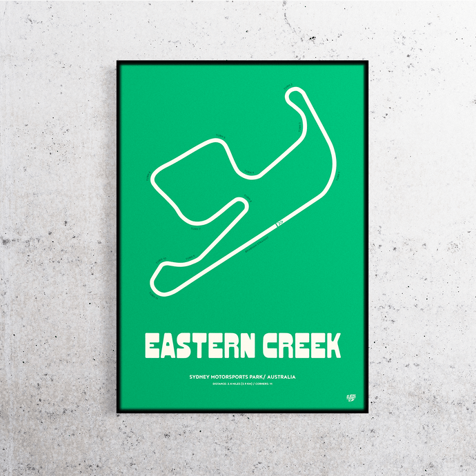 Eastern Creek Track Print