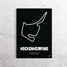 Load image into Gallery viewer, Hockenheimring Formula 1 Track Print