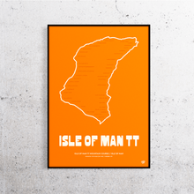 Load image into Gallery viewer, Isle of Man TT Track Print