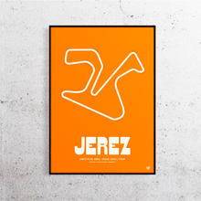 Load image into Gallery viewer, Jerez MotoGP Track Print