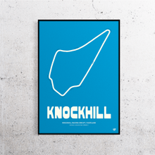 Load image into Gallery viewer, Knockhill Track Print