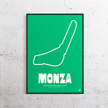Load image into Gallery viewer, Monza Formula 1 Track Print