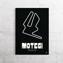 Load image into Gallery viewer, Motegi MotoGP Track Print