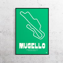 Load image into Gallery viewer, Mugello MotoGP Track Print