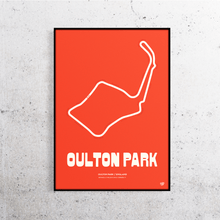 Load image into Gallery viewer, Oulton Park Track Print