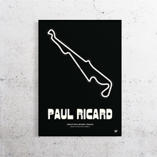 Load image into Gallery viewer, Paul Ricard Formula 1 Track Print