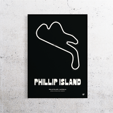 Load image into Gallery viewer, Phillip Island MotoGP Track Print