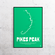 Load image into Gallery viewer, Pikes Peak Track Print