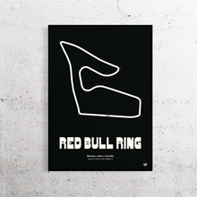 Load image into Gallery viewer, Red Bull Ring Formula 1 Track Print