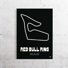 Load image into Gallery viewer, Red Bull Ring MotoGP Track Print