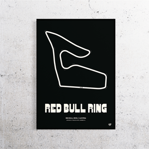 Red Bull Ring MotoGP Track Print