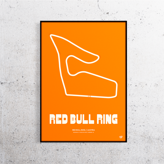 Red Bull Ring Formula One Track Print