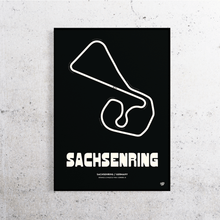 Load image into Gallery viewer, Sachsenring MotoGP Track Print