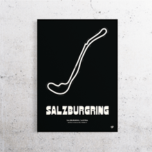Load image into Gallery viewer, Salzburgring Track Print