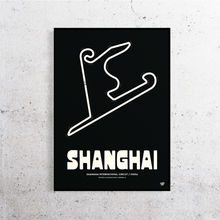 Load image into Gallery viewer, Shanghai Formula 1 Track Print
