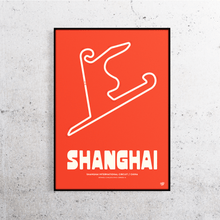 Load image into Gallery viewer, Shanghai Formula One Track Print