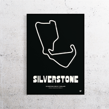 Load image into Gallery viewer, Silverstone Formula 1 Track Print