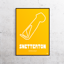 Load image into Gallery viewer, Snetterton Track Print