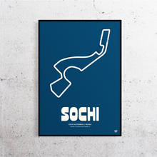 Load image into Gallery viewer, Sochi Formula One Track Print