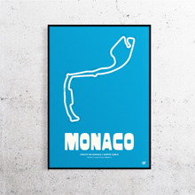 Load image into Gallery viewer, Monaco Formula 1 Track Print