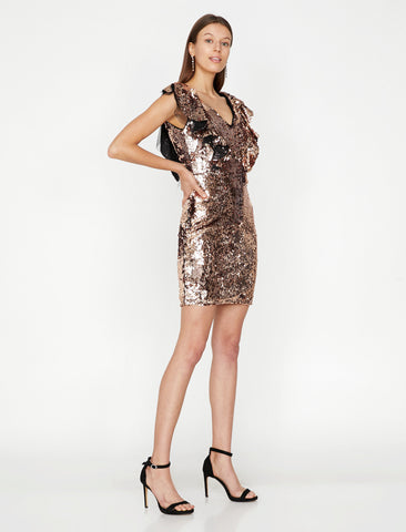 Saddron Sequin Detailed Dress