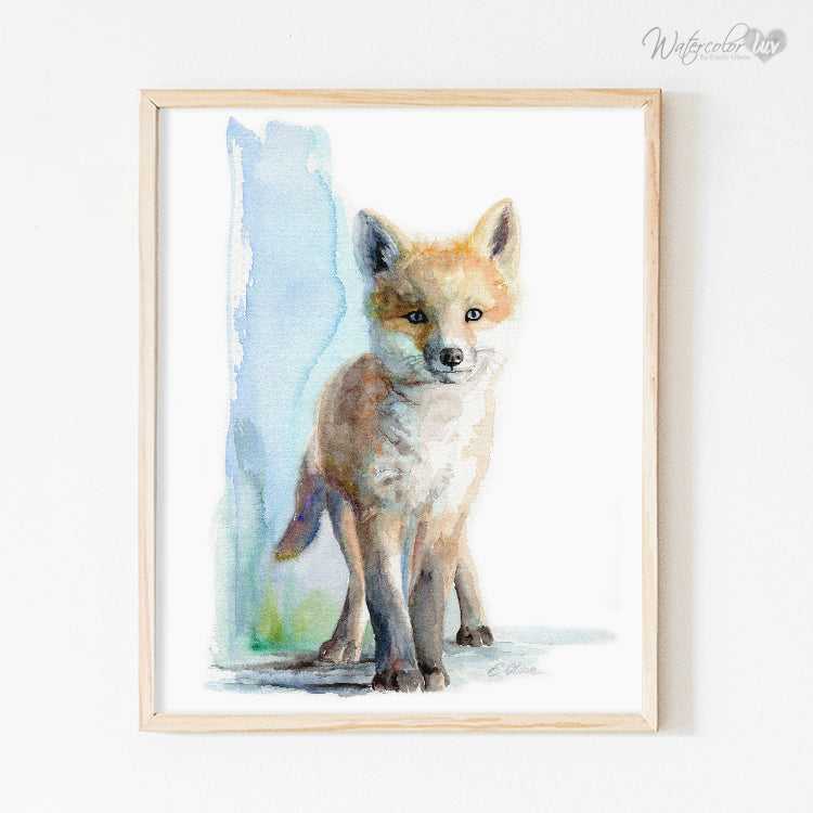 Baby Fox No.2 Digital Print