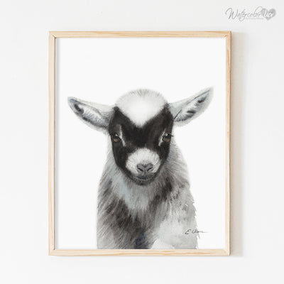 Baby Farm Animals | Set of 6 Digital Prints