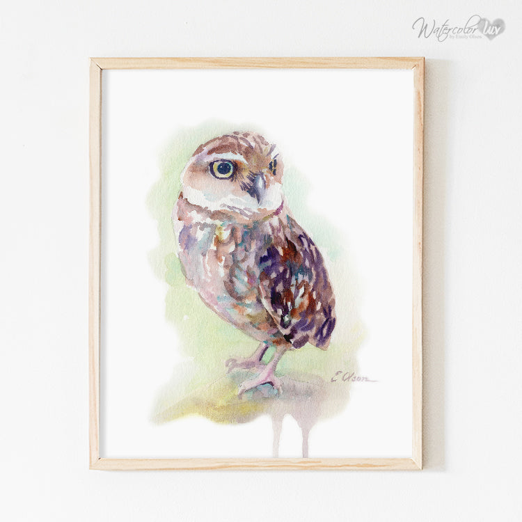Woodland Owl Digital Print