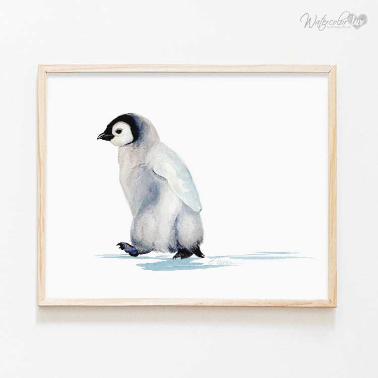Baby Penguin Digital Print