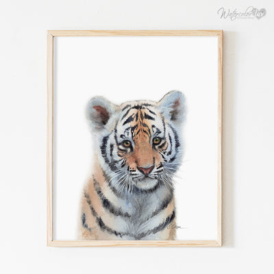 Baby Tiger Digital Print