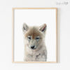 Baby Wolf Shipped Print