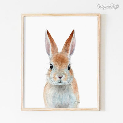 Bunny Rabbit Digital Print