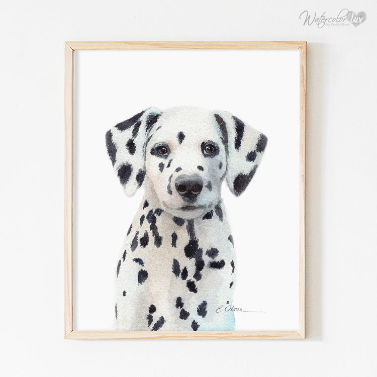 Dalmatian Puppy Digital Print