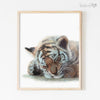 Sleeping Jungle Animals | Set of 6 Digital Prints